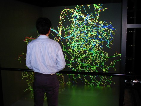 A visualization of genome information using VR technology