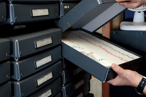 All recording papers have been saved since the start of observations.