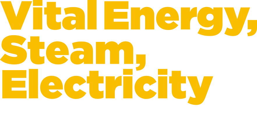 Vital Energy, Steam, Electricity